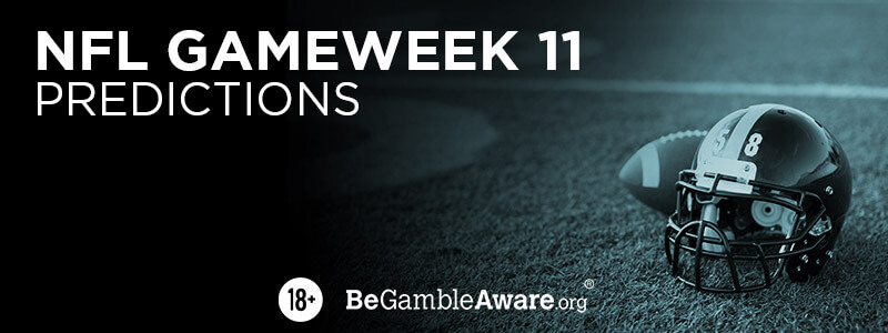 NFL Gameweek 11 Predictions