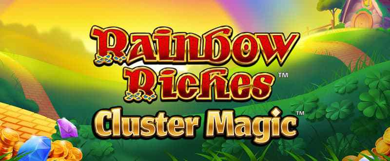 rainbow riches cluster magic casino game