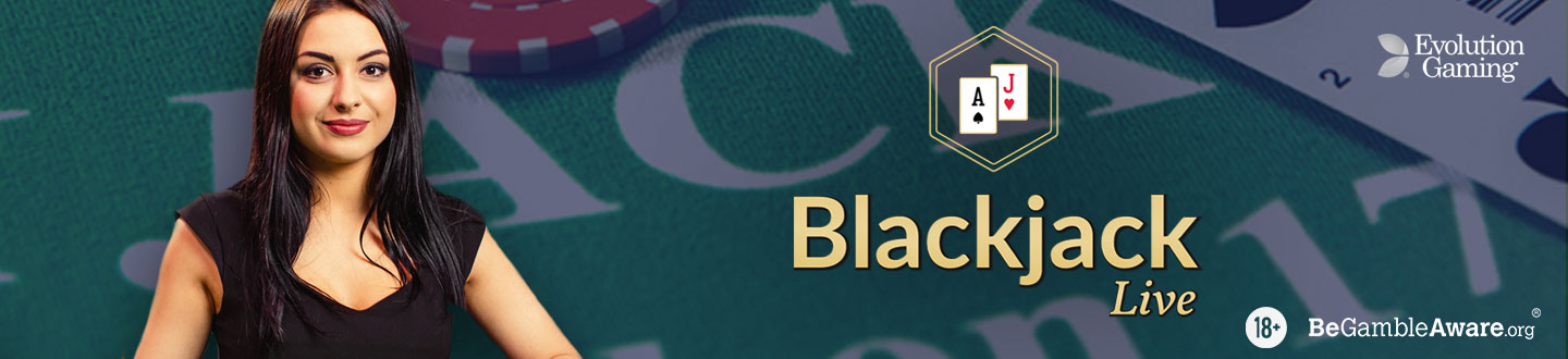 Play Live Blackjack Online at 21.co.uk