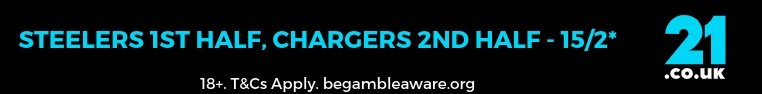 Steelers v chargers NFL betting