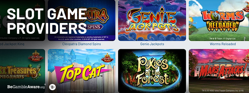 Slot Game Providers