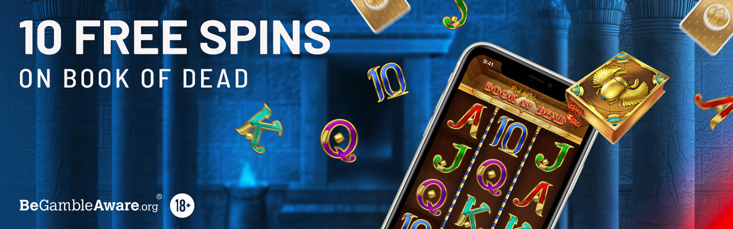 Book of Dead Free Spins Offer