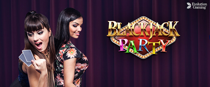 Live Blackjack Party online casino UK