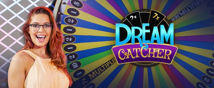 Live Dream Catcher online casino game