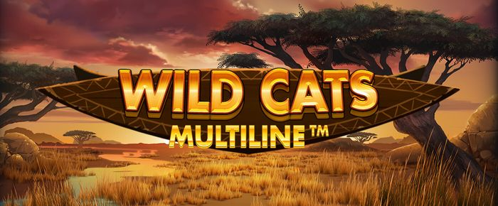 Wild Cats Multiline casino game