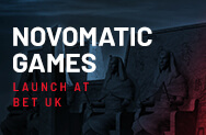 Novomatic Games Launch At Bet UK