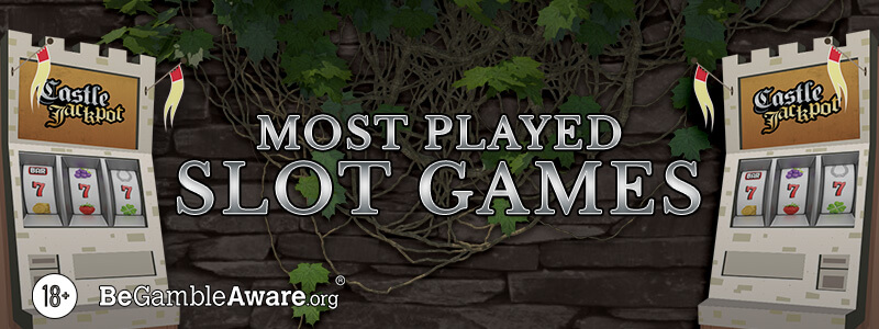 Our Most Played Slot Games