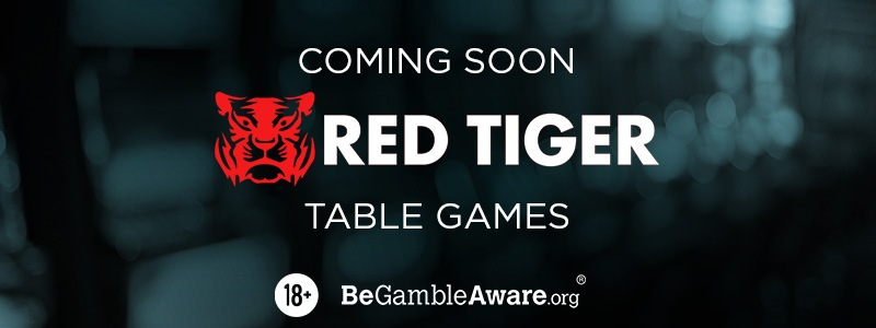 Red Tiger Table Games Are Coming To 21.co.uk