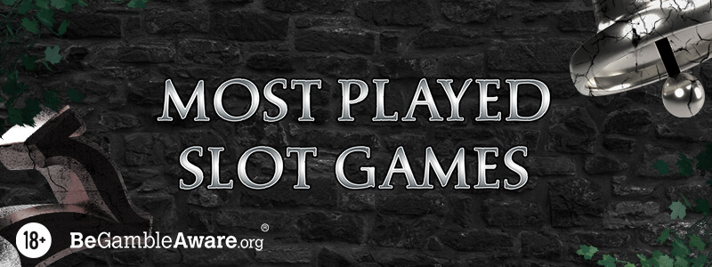 Most Played Slot Games This Month