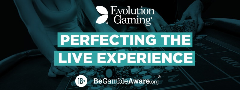 Live Casino with Evolution Gaming