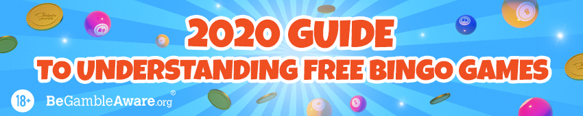 Guide to Free Bingo Rooms, Cards/Tickets/Games Banner in 2020