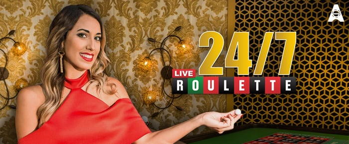 24/7 live roulette online casino game