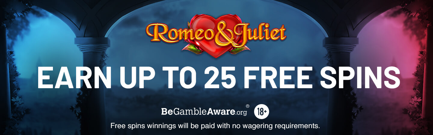 Romeo and Juliet Free Spins