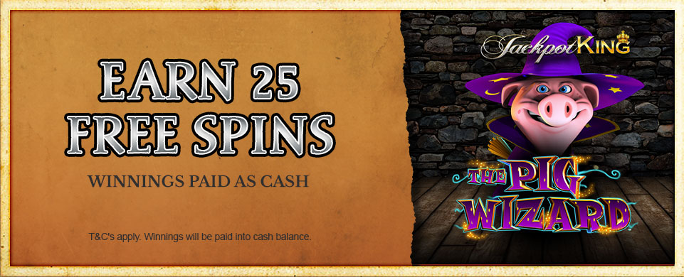 Pig Wizard Free Spins