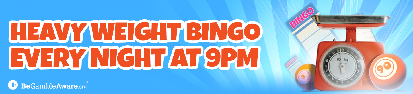Heavy Weight Bingo Games at Crown Bingo