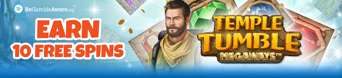 10 Free Temple Tumble Megaways Spins