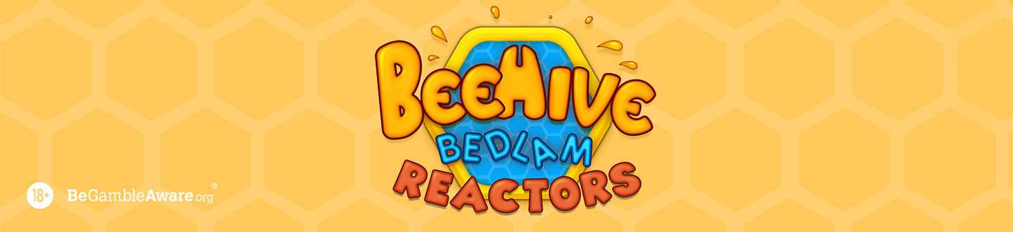 Beehive Bedlam Blue Print Progressive Slot at Bet UK