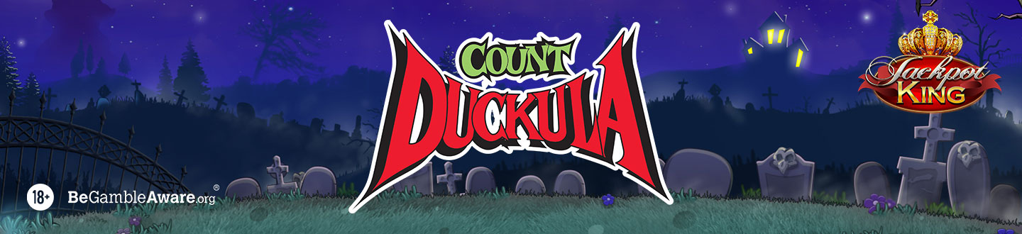 Count Duckula Jackpot King Slot at Pink Casino