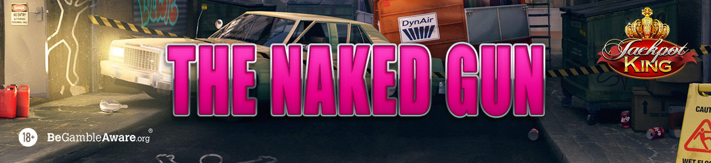 Naked Gun Jackpot King Slot at Pink Casino