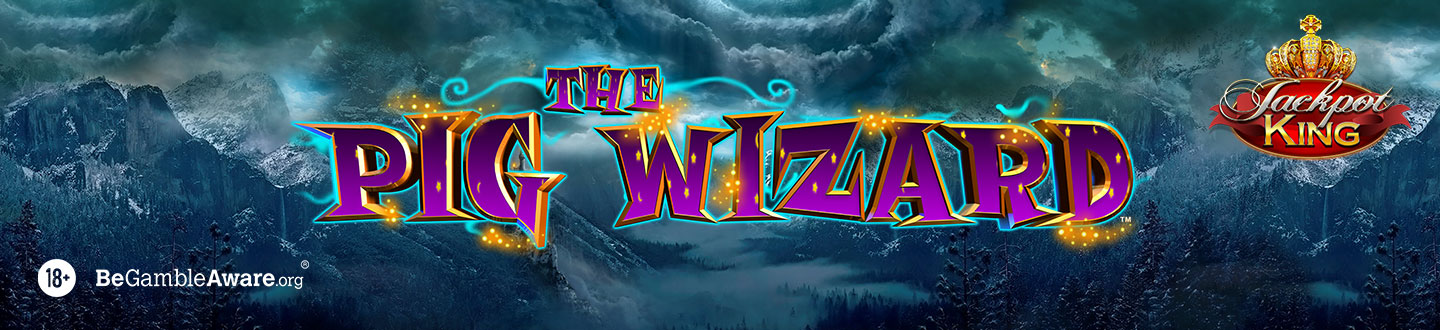 The Pig Wizard Jackpot King Slot at Bet UK
