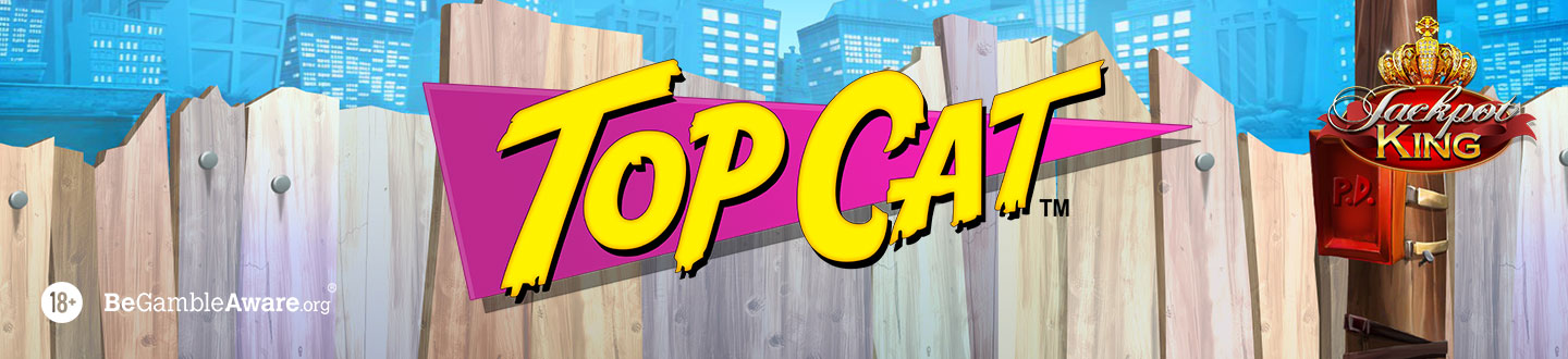 Top Cat Jackpot King Slot at Pink Casino