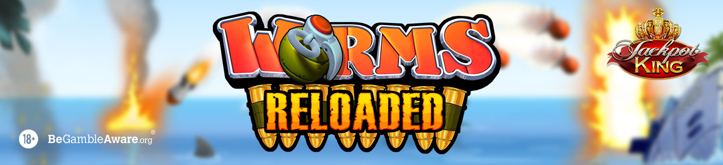 Worms Reloaded Jackpot King Slot at Pink Casino