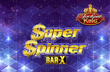Super Spinner Bar X Jackpot King Slot at Bingos