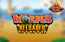 Worms Reloaded Jackpot King Slot at Bingos