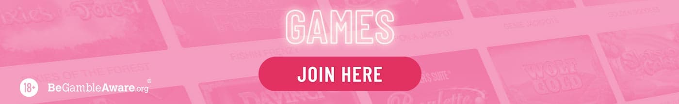 Online Casino Games at Pink Casino