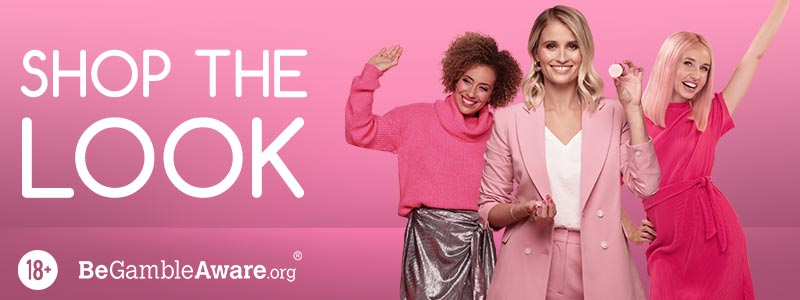 Shop the Look: Pink Casino Advert