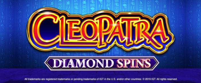 cleopatra diamond spins slot game