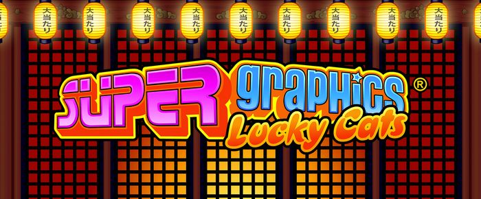 super graphics lucky cats slot games