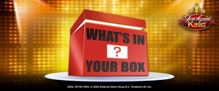Deal or no Deal - What's In Your Box online slot uk