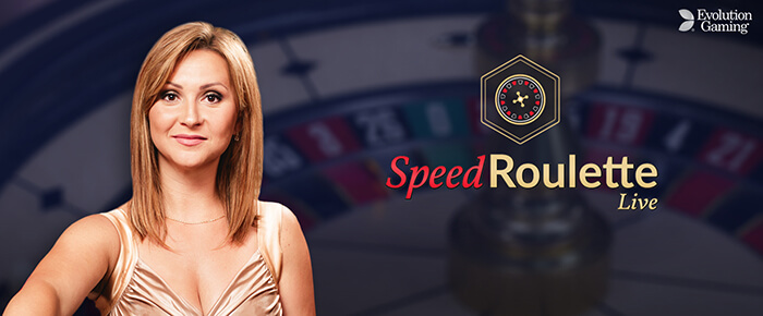 Live Speed Roulette online casino UK