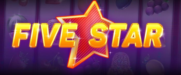 Five Star online slots UK