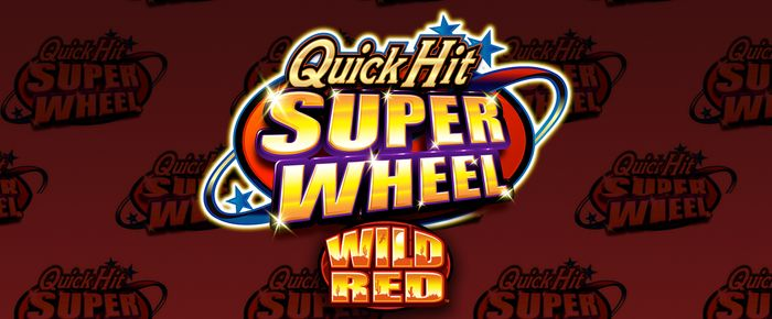 Quickhit Super Wheel Wild Red online slots UK