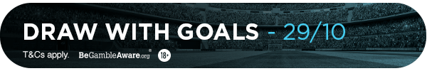 **MG's bet: Draw with Goals - 29/10**