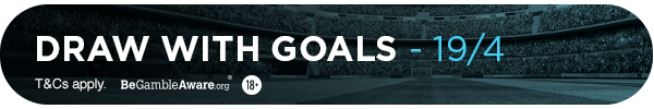 **MG's bet: Draw with goals - 19/4**