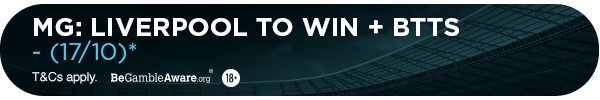**MG's bet: Liverpool to Win & BTTS (17/10)**