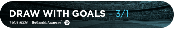 MG's Bet: Draw with Goals - (13/10)