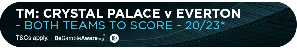 **TM's bet: Both teams to score - 20/23**