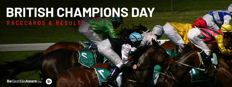 2018 British Champions Day Racecards