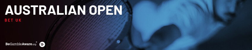 Australian Open Tennis Betting at Bet UK
