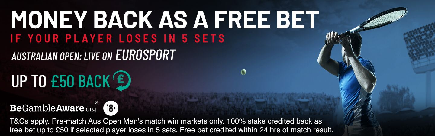 Australian Open Money Back Offer