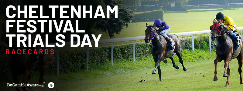 Cheltenham Festival Trials Day Racecards