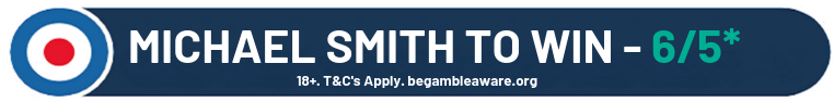 Michael Smith To Win 6/5*