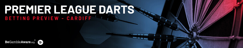 Premier League Darts Betting Tips Night 12 - Cardiff