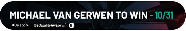 Michael van Gerwen to win - 10/31*