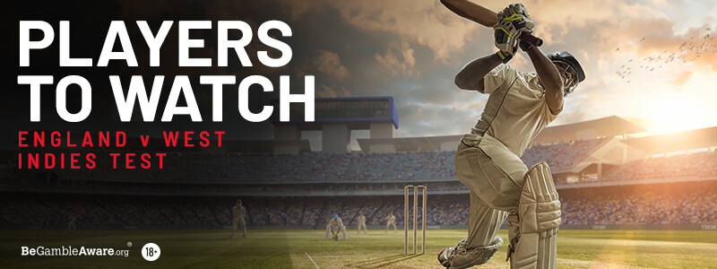 England v West Indies - Players To Watch