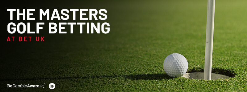 The Masters Golf Betting at Bet UK